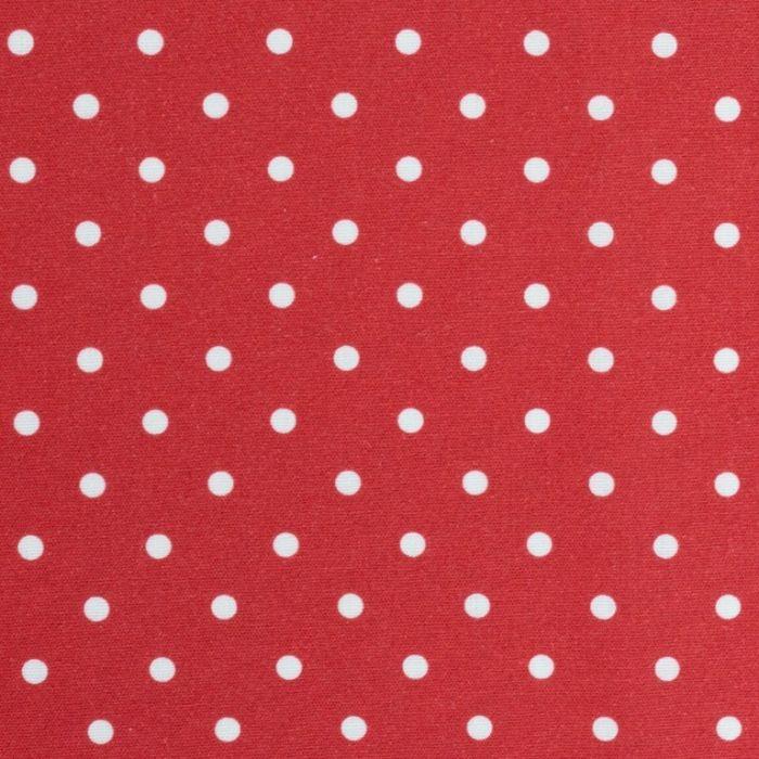Swafing Webware Timo rot mit  kleinen Punkten
