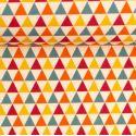 Swafing Webware Timo naturweiß mit bunten Dreiecken