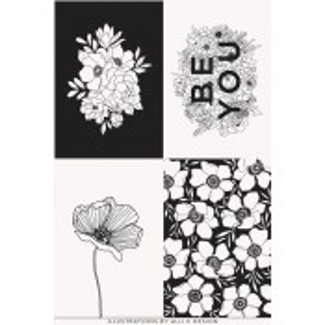Moda Fabrics Canvas Illustrations Panel