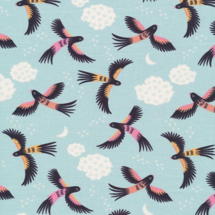 Cloud9 Fabrics Tropical Garden Parrot Play