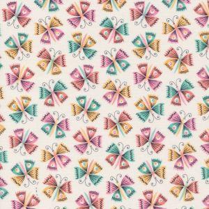 Cloud9 Fabrics Tropical Garden Flutter