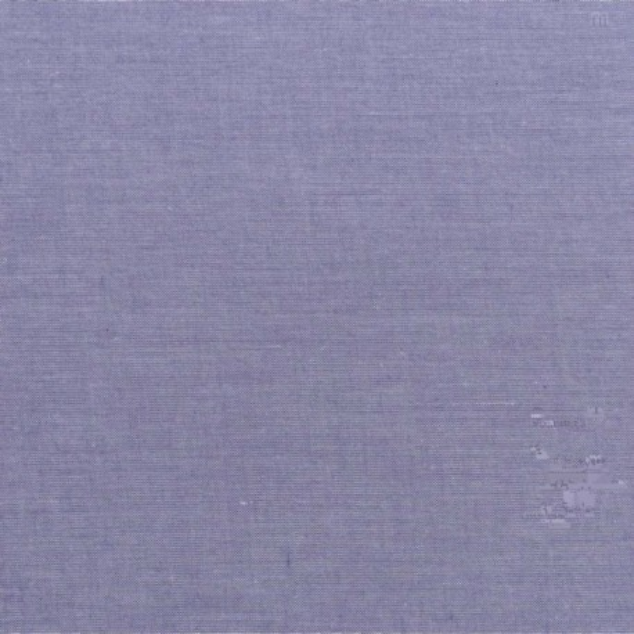 Tilda Stoffrest Chambray Uni lavendel