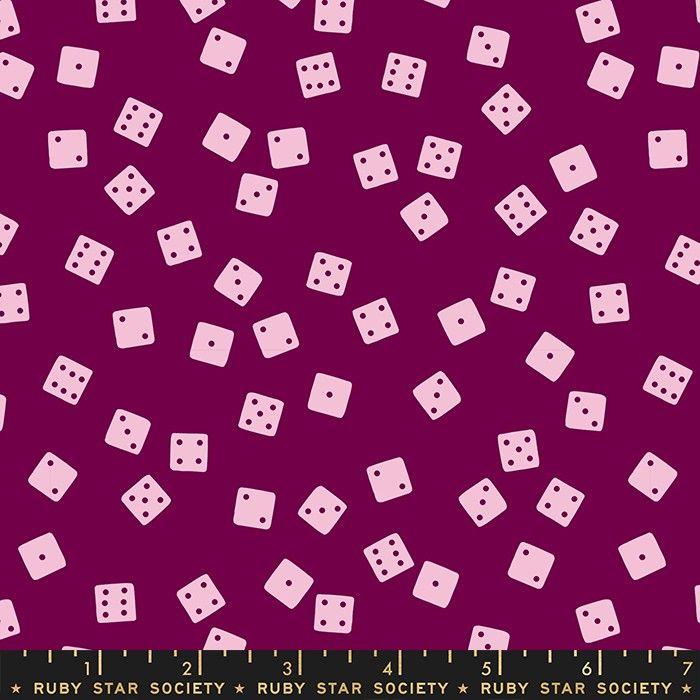 Moda Fabrics Tarry Town Farkle Purple Velvet