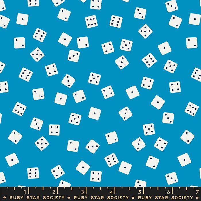 Moda Fabrics Tarry Town Farkle Bright Blue