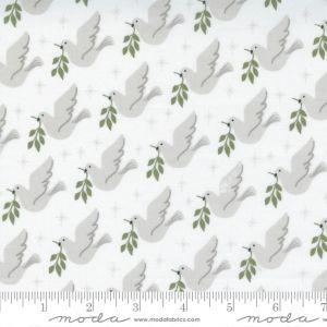 Moda Fabrics Christmas Morning Lovey Dovey Snow