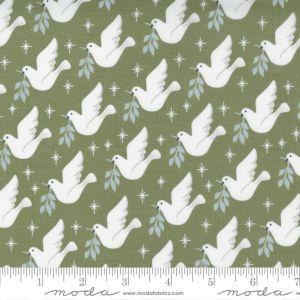 Moda Fabrics Christmas Morning Lovey Dovey Pine