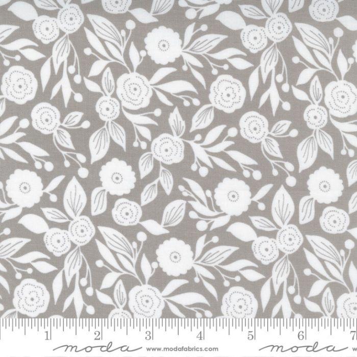 Moda Fabrics Christmas Morning Winter Flora Dove