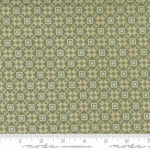 Moda Fabrics Christmas Morning Bright Star Quilt Block Pine