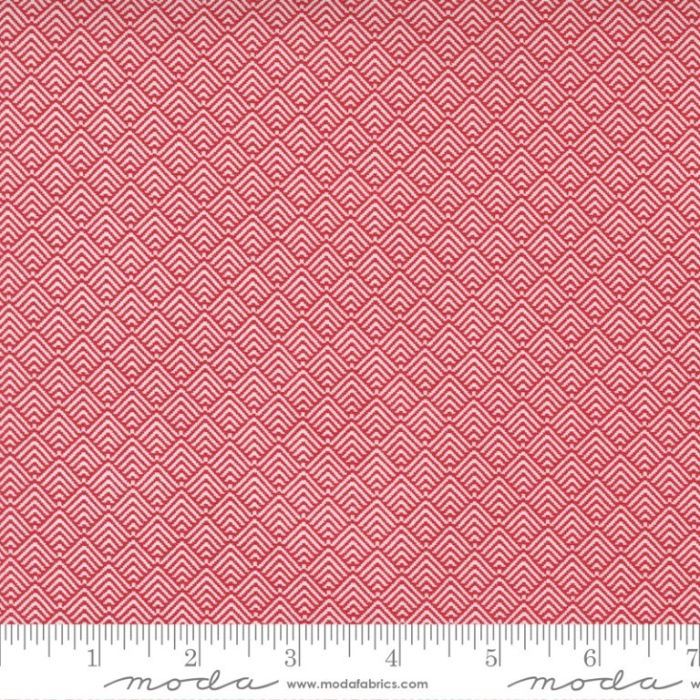 Moda Fabrics Christmas Morning Comfort Texture Cranberry