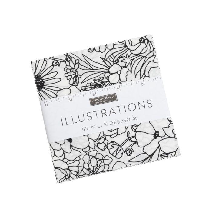 Moda Fabrics Charm Pack Illustrations