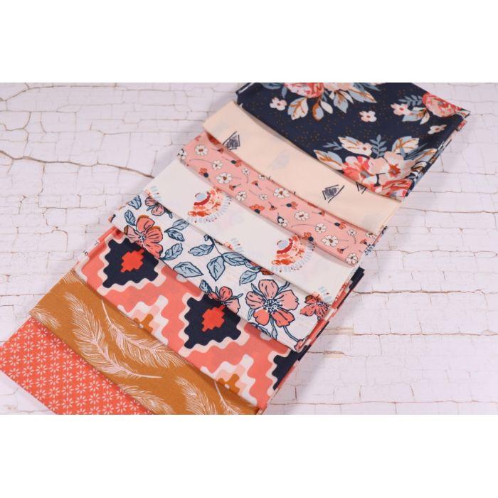 Art Gallery Fabrics Fat Quarter Stoffpaket Homebody Somewhere Slower