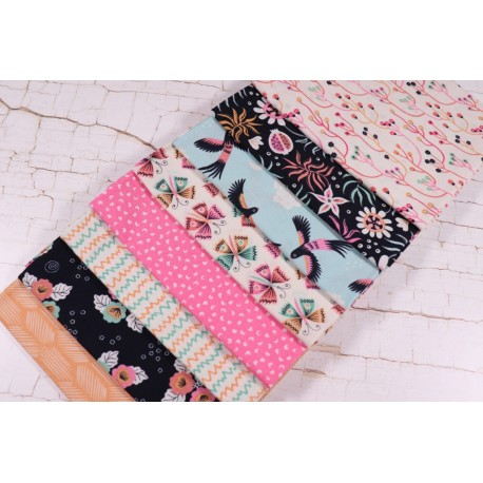 Cloud9 Fabrics Fat Quarter Stoffpaket Tropical Garden