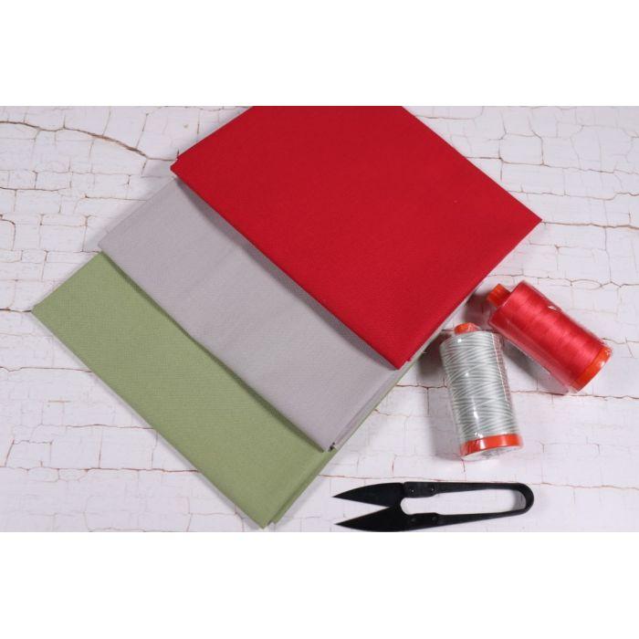Moda Fabrics Fat Quarter Stoffpaket Bella Solids Christmas Morning