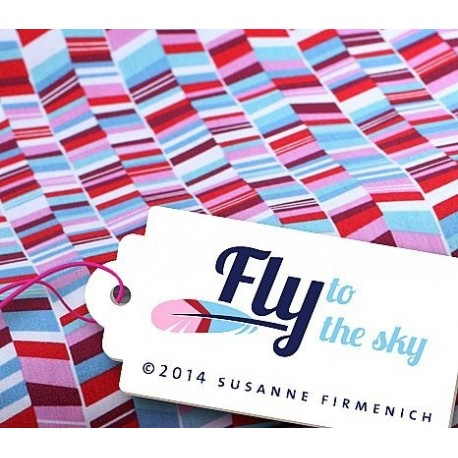 Stoff Hamburger Liebe Fly to the Sky