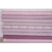Fat Eight Stoffpaket Stof Fabrics Petit Coeur